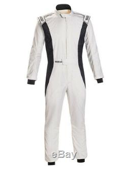 001137 Sparco Competition Race Suit 3-Layer Fireproof FIA 8856-2000 Sizes 48-66