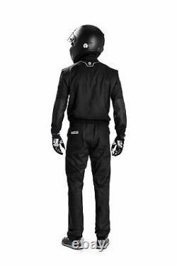002019 New 2020 Sparco MS-5 MS5 Race Mechanics Suit Overalls Colour Black/Grey