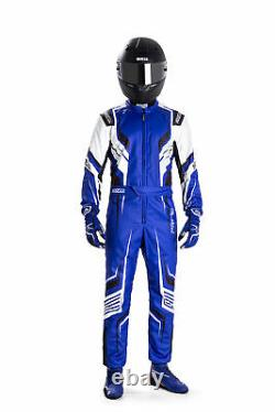 002307 New 2020 Sparco Prime K Karting Suit Kart Racing Overalls CIK-FIA Level 2