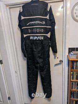 1999 Arrows F1 Team Formula One T-Minus Mechanics Sparco Pit Crew Race Suit