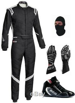 2 Setsparco Go Kart Racing Suit- Cik/fia Level II Approved With Shoes And Glove