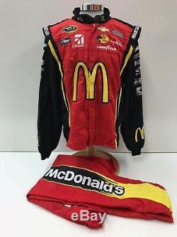 20 NASCAR Race Used Sparco Fire Suit McDonalds SFI 3-2A/5 C44/W36/L30