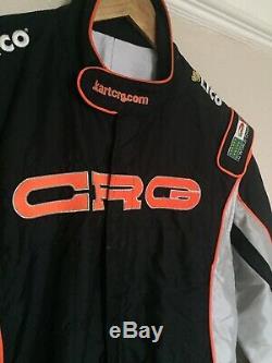 2010 Geniune Sparco LICO CRG Kart Suit Race Suit