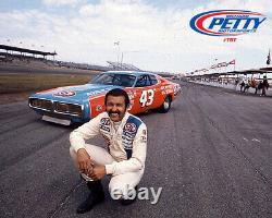 2015 Aric Almirola Darlington Race Used Drivers Suit, #43 Richard Petty Throwback
