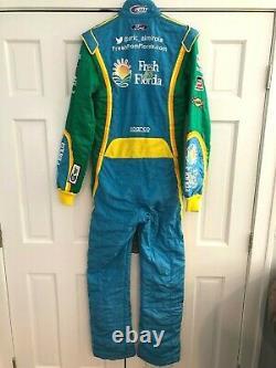 2015 Aric Almirola, Nascar, Race Used/worn Drivers Suit, #43 Richard Petty Racing
