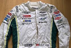 2016 ASTON MARTIN RACING TOTAL PAUL DALLA LANA SPARCO RACE SUIT FiA 8856-2000