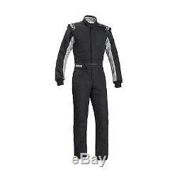 2017 2017 Sparco SPRINT RS-2.1 Race Suit Black/White (FIA) s. 64