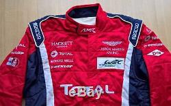 2017 ASTON MARTIN RACING REFUELLER's RACESUIT SIZE 52 FiA 8856-2000 by SPARCO
