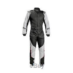 2017 Sparco Energy RS-5 Race Suit black/silver (FIA homologation) 52