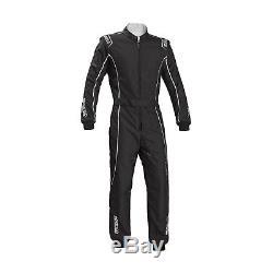 2017 Sparco Groove KS-3 Kart-Suit black/silver CIK FIA size L NEW