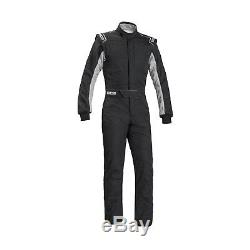 2017 Sparco SPRINT RS-2.1 Race Suit Black/White (FIA) s. 64