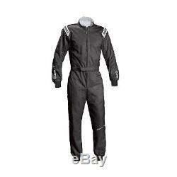 2017 Sparco Track KS-1 Race-Suit Black Genuine M