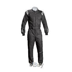 2017 Sparco Track KS-1 Race-Suit Black Genuine XXL