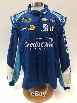 40 NASCAR Race Used 2pc Sparco Racing Fire Suit SFI 3-2A/5 C48/W38/L31