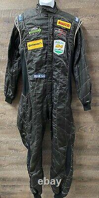86 SPARCO Race Used Driving Suit 1 Piece SFI 5 Multi Layer C38/W32/L27