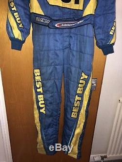 AJ Allmendinger Sparco Race Used Nascar Fire Suit
