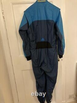 Adidas FIA Nomex Race Suit Size 52 Blue Approx 40 Chest Sparco