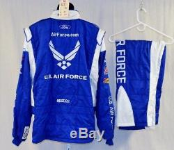 Air Force Richard Petty Sparco SFI-5 Race Used NASCAR Fire Suit #5651 50/42/32