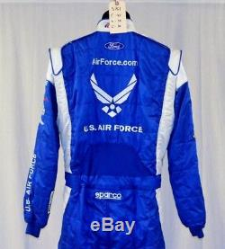 Air Force Richard Petty Sparco SFI-5 Race Used NASCAR Fire Suit #5761 42/34/30