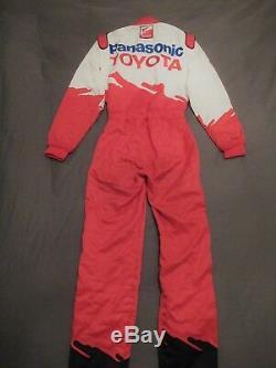 Allan McNish Mika Salo Toyota F1 Sparco promo race suit 2002 VERY RARE