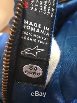 Alpinestars 100% Nomex Circuit Race Suit Euro 54 Size M/L. Not OMP, Sparco
