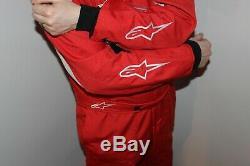 Alpinestars Delta FIA Race Suit 8856-2000 motor racing not Sparco, OMP, Puma etc