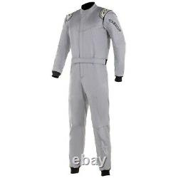 Alpinestars Stratos Racing Rally Race Suit (FIA Approved) silver size 48