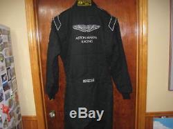 Aston Martin Racing 2016 Race Team Mechanics fire suit Size 56 Sparco