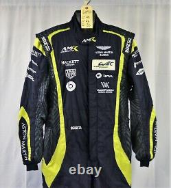 Aston Martin Racing 24 Hours Lemans Race Used Sparco FIA Crew Fire Suit #6890