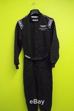 Aston Martin Racing Team Issue Sparco Race Suit Mens 54 Fia Standard 8856-2000