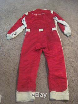 Authentic American Le mans Series 2011 Level 5 Race Worn Fire Suit Sparco