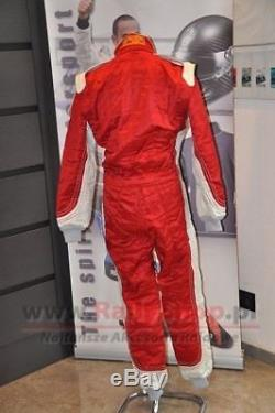 BLACK FRIDAY! FIA SFI SUIT SPARCO PROFY size 56 RED Race Rally DayTrack SALE