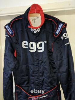BTCC 2002 British Touring Car Matt Neal Dynamics Egg 888 Signed Sparco Race Suit