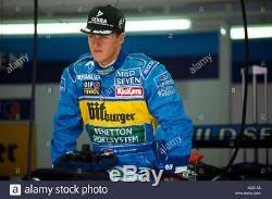 Benetton Sparco F1 Formula One Team Jacket Half Racesuit Schumacher RARE ITEM