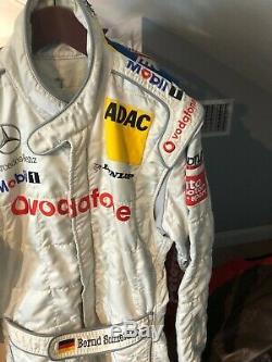 Bernd Schneider Race Used/worn, 2003, Mercedes Vodafone Dtm Sparco Drivers Suit