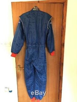 Blue Sparco FIA Race/Rally Nomex Overalls