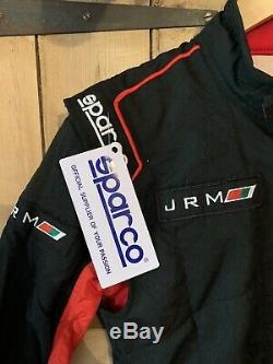 Brand New Sparco FIA 8856-2000 Race Car Overalls Euro 48 (3) Silverstone