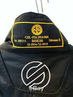 CIK-FIA Approved Sparco KS-3 Kart Suit Medium- Used Twice In Date