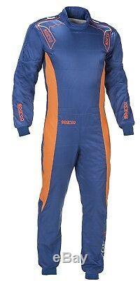 CIK Sparco Ergo-7 Kart Suit M Blue Orange CHEAP DELIVERY overall