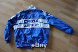 Damon Hill Arrows Sparco Race Suit Jacket Rare size large