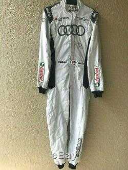 Dindo Capello, Audi R8, Race Used Sparco Drivers Suit Hand Signed, Lemans Winner