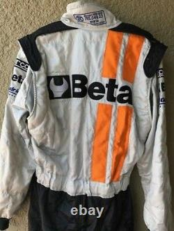 Dindo Capello, Wec Event Race Used Sparco Drivers Suit, Signed, Lemans Winner