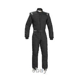 EU Sparco Italy SPRINT RS-2.1 Race Suit Black (FIA) s 54