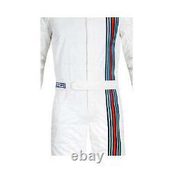EU Sparco Italy VINTAGE Racing Suit white (FIA homologation) s 56