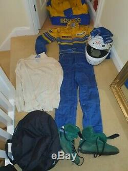 Everything you need to race Sparco Race Suit 01.008 Gloves, Helmet, Boots