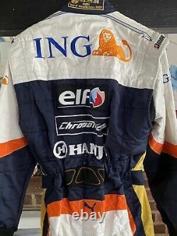 F1 motorsport memorabilia Sparco Race Suit