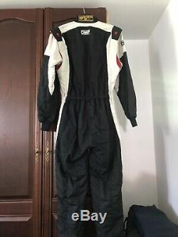 FIA APPROVED OMP FIREPROOF 2 Layer Race Suit, Size 54. NOT ALPINESTAR, Sparco