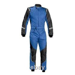 FIA Nomex Sparco Energy RS-5 Racesuit Blue Black Reduced from £616 Size 54