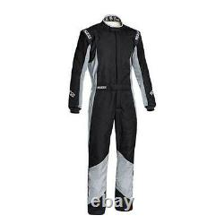 FIA Nomex Sparco Grip RS-4 Racesuit Black Grey Reduced from £540 Size 58