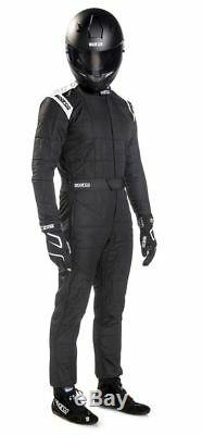 FIA Racing Suit SPARCO CONQUEST R-506 Rally Race Entry Level Overall Black